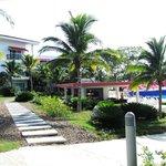 Hotel y sus alrededores
