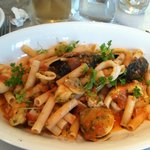 Gluten Free Pasta with Seafood