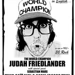 Judah Friedlander came to perform at SoGymnase May 30th 2013. Sold out show !