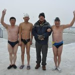 Songhua River Ice Swimmers 1