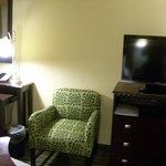 Work Desk & TV & Chair in Room