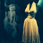 Marilyn Monroe's famous white dress.