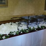 SCOTT Wedding buffet setup