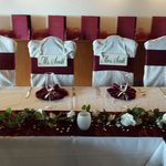 SCOTT Wedding bride and groom chairs