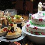 Buffet des desserts pour Noël