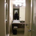 Bathroom in your Suite, no tub, room 306