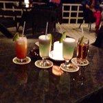 Wonderful cocktails at the beach bar