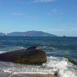 Parte de la playa