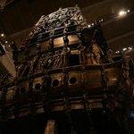 Detail of Vasa ship