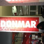 The Donmar sign