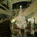 Christmas theme at the lobby