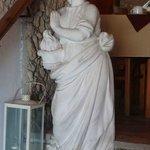 Statue zum Speiseraum