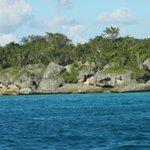 скалы в Карибском море