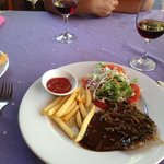 Австралийская говядина в винном соусе