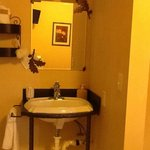 sink area (sperate from shower and commode)