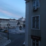 Figueira square--view from room