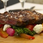 Our beef is hormone-free and naturally dry-aged. Tender and delicious.