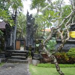 Main Balinese Temple on the Hotel Grounds