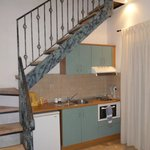 apartment stairs to bedroom