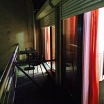 le balcon de la suite 512