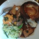 Tender lamb Sunday roast 12th Jan 2014