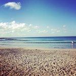 beach south of villa (surfing beach)