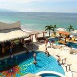View of Pools/Ocean