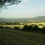 the tuscany countyside
