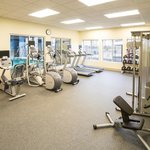 Get in a workout at our complimentary 24-hour fitness center