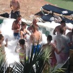 Pool side Foam Party
