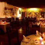 Monastery dining room