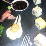 Dinner at Asian inspired restaurant