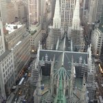 St. Patrick's from the 31st floor