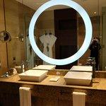 Mirror on the bathroom
