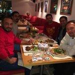 Pomodor'da akşam yemeği