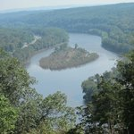 Further up the Red path---Mount Tammany