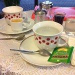Original teacups at the Bambi