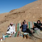 Delicious lunch and Bedouins tea