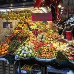 La zona della frutta
