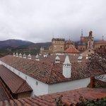 Vista de Guadalupe desde la terraza del Parador