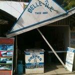 Belle Ile crepe shop in El Nido Palawan