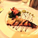 Wonderful butterfish with wasabi