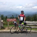 VGR ride to top of Mt Mitchell