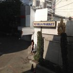 Villa market next to the hotel. Closed on Saturday and sunday