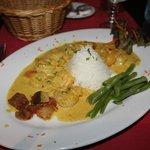 Shrimp Coconut Milk Curry