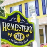 Welcome to the Homestead B&B