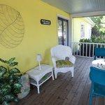 Enjoy Breakfast on the Porch