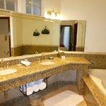 Bathroom within casita at South Coast Resort