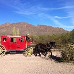 Stagecoach ride.