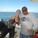 Dive Master Willie and Daughter